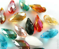 10 SWAROVSKI CRYSTAL TEARDROP 12MM PEANDANT BEADS
