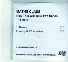 (DU753) Maths Class, Now This Will Take Two Hands - 2008 DJ CD