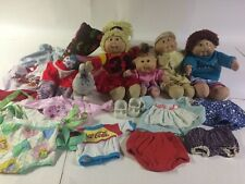 VINTAGE CABBAGE PATCH KIDS LOT DOLLS PET AND ACCESSORIES MIXED Check It Out!