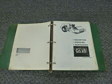 Dynapac CA 25 Vibratory Compactor Roller Owner Operator Parts Catalog  Manual