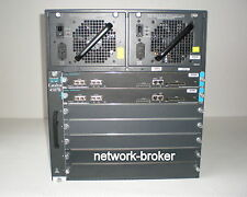 Cisco Catalyst WS-C4507R 2 x WS-X4515 Sup Engine IV  2 x PWR-C45-1000AC