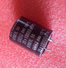 1PCs CAPACITOR ALUM ELEC 10000UF 35V 10000MF SNAP-IN 105°C (replacing for 16V )