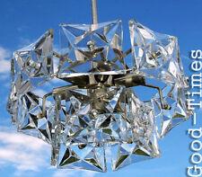 Glas Prisma   Crystal Sputnik CHANDELIER  60/70er Jahre by Kinkeldey