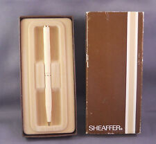 Sheaffer White Dot  Fashion Ball Pen--DOVE GRAY--- (new in box with stickers )