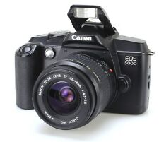 Canon EOS 5000 Lens zoom EF 38-76mm 4.5-5.6  (Réf#B-019)