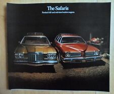 PONTIAC SAFARI orig 1974 USA Mkt Large Format Brochure - Grand Catalina Le Mans