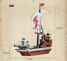 building blocks set Compatible with Lego pirate battleship 30002