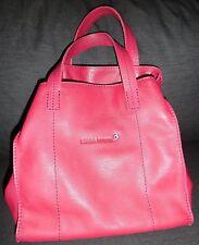NEW Sonia Rykiel Women's Pink Leather Handbag, Purse, Bag