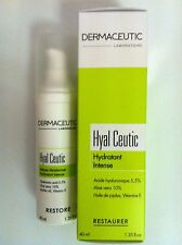 Dermaceutic Hyal Ceutic Intense Moisturizer 40ml New in box Authentic