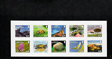 Guernsey 2007 MNH La Societe Guernesiaise 125 Years 10v S/A Set Birds Bees Frogs