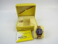 Invicta 9312A Pro Diver Men's Gold-Tone Stainless Steel Watch W/ Link Band- Used