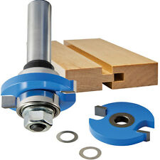 "Rockler Tongue and Groove Router Bit, 3/8"" Cutter Width X 1/4"" Cutter Height,..."