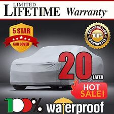 20-LAYER CAR COVER - 100% Waterproof 100% Breathable 100% UV & Heat Protection A