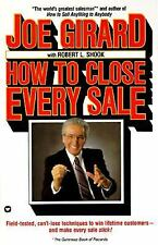 How to Close Every Sale by Joe Girard Paperback Book (English) NEW Free Shipping