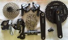 Shimano Altus M370 MTB Groupset 3x9 27(Speed) Black - 7 pcs