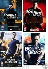 JASON BOURNE COLLECTION QUADRILOGY DVD Identity Supremacy Ultimatum Legacy Set