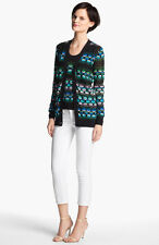 M Missoni Pucker Wave Cotton Cardigan IT 44  US 8  UK 12 Med Multi color NWT$595