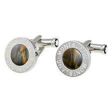 Montblanc Steel And Petersite Classic Collection Cufflinks
