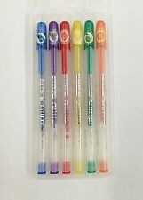 6 Colors Fruit Scented Fast-Drying Glitter Gel Pen