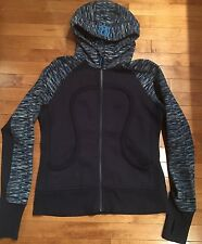 Lululemon Sz 12 Scuba Hoodie Wee Are From Space Inkwell Stripe