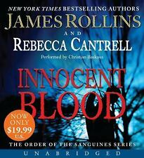 Innocent Blood (Order of the Sanguines) [Audio] by James Rollins.FREE SHIPPING