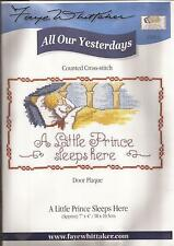 """Counted Cross Stitch All Our Yesterdays 7"""" x 4"""" Little Prince (072-21)"""