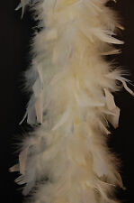 "80 Gram CHANDELLE FEATHER BOA Top Quality 72"" MANY COLORS (Halloween/Bridal)"