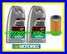 Kit Tagliando KTM 350 LC4 SX Super Comp. 94 95 Filtro MOTOREX Cross Power 10W/50