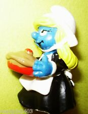 COLLECTABLE VERY RARE VINTAGE SMURFETTE NURSE MAID WAITRESS 1982 WITCH