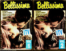 CASx2 - Various - Bellissima (18 Italian Love Ballads - Compilation) MINT SEALED