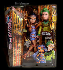 Monster High Boo York Traumpaar Cleo DeNile +Deuce Gorgon  CHW60 deutsch NEU OVP