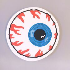 Be careful! EYE ON YOU Eyeball Sticker Skateboard Guitar Laptop Car Cute Decal