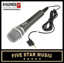 iRig MIC IK MULTIMEDIA DYNAMIC VOCAL MICROPHONE FOR IPHONE IPAD iOS DEVICES NEW