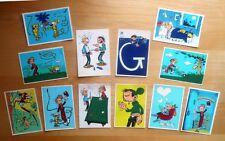 12 cartes postales feutrine de Franquin; album; dessin original; bd; dérivés BD