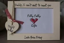Personalised Photo Frame by Filly Folly! New Dad To Be New Daddy Gift!