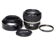 Nikon AiS NIkkor 50mm F/1.2 + HS-12