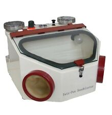 Dental Lab Equipment twin-pen Double Pen Fine Sandblaster Unit  Sand Blaster Top