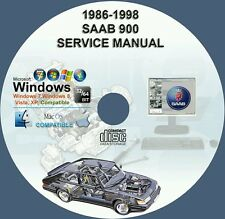 Saab 900 - 900S Service Repair Manual on CD