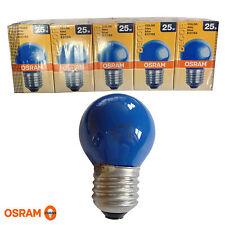 5x Osram Decoro P Colorata blu 25W E27 Lampadina Lampada Da 25 Watt