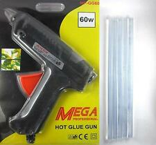 60W Multi Purpose Hot Melt Glue Gun With 2 Small + 5 Big Glue Stick Free 60 Watt