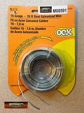 M00591 MOREZMORE 16 GA Steel Wire Sculpting Doll Figure Armature 25 ft A60
