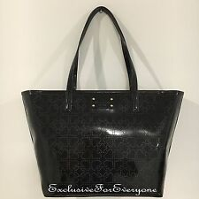 NWT Kate Spade Metro Spade Small Harmony Tote Black Patent Leather $178