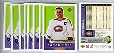 1X JEAN BELIVEAU 1999 00 Upper Deck Retro  #85 NMMT Canadiens Lots Available