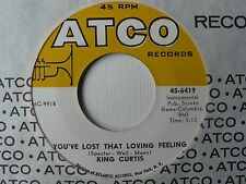 KING CURTIS~ MINT NOS 45- YOU'VE LOST THAT LOVING FEELING/MAKE THE WORLD GO AWAY