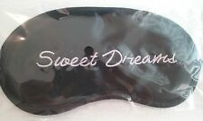 Eye Mask Shade Cover Travel Sleep Soft Blindfold) reads Sweet Dreams