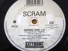 """SCRAM - RUNNING AWAY  7"""" VINYL"""