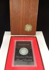 "1972-S ""BROWN IKE"" PROOF EISENHOWER SILVER DOLLAR WITH U.S. MINT CASE FREE SHIP"