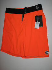 NWT Billabong Boys 28/16 Boardshorts Board Shorts Neon Orange Black Beach Surf