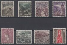 ANDORRA - ANDORRE - SPANISH - COMPLETE YEAR 1963/64 MNH