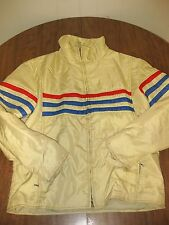 NUMBER 1 SUN vtg snowsuit 2-piece winter outfit 1970s snowmobile racing stripes